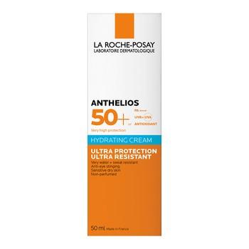 La Roche-Posay Anthelios Ultra, bezzapachowy krem do skóry twarzy oraz okolic oczu, SPF 50+, 50 ml