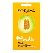 Soraya foodie, supernawilżająca maseczka do twarzy, melon, 2 x 5ml