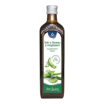 AloeVital, sok z aloesu z miąższem, 500 ml (Oleofarm)