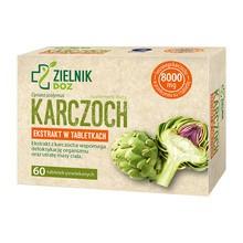 ZIELNIK DOZ Karczoch, tabletki powlekane, 60 szt.