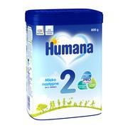Humana 2, mleko następne w proszku, dla dzieci po 6. miesiącu życia, 800 g