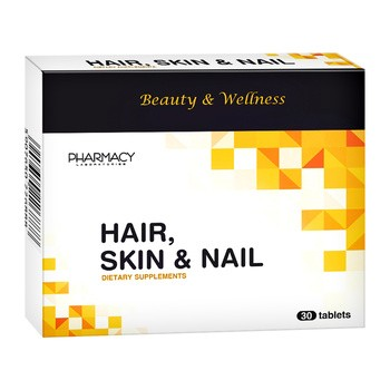 Hair, Skin & Nail, tabletki, 30 szt.