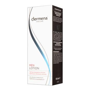 Dermena Hair Care, Men, lotion hamujący wypadanie i stymulujący odrastanie włosów, 150 ml