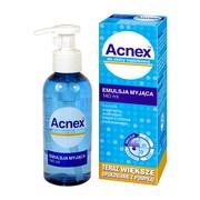 Acnex, emulsja myjąca do skóry trądzikowej, 140 ml