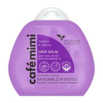 Cafe mimi, balsam do włosów, objętość i odżywienie, 100 ml