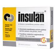 Insulan, tabletki powlekane, 30 szt.