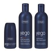 Zestaw Ziaja Yego (szampon 300 ml + żel 300 ml + antyperspirant 60 ml)