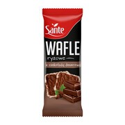 SANTE Wafle ryżowe z czekoladą, 62 g