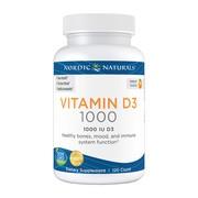 Nordic Vitamin D3, kapsułki miękkie, 120 szt.