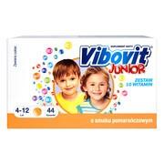 Vibovit Junior o smaku pomarańczowym, proszek, 2 g, 44 saszetek