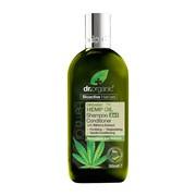 Dr.Organic Hemp Oil, szampon i odżywka 2 w 1 z organicznym olejem z konopi siewnych, 265 ml