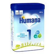 Humana 1,  mleko początkowe w proszku, 800g