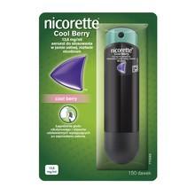 Nicorette Cool Berry, 13,6 mg/ml, aerozol do stosowania w jamie ustnej, 150 dawek