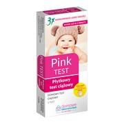 Domowe Laboratorium, Pink Płytkowy test ciążowy, 1 szt.
