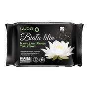 Luba, Nawilżany papier toaletowy dla dorosłych Biała Lilia, 48 szt