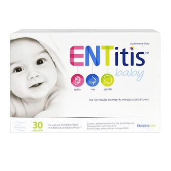 ENTitis Baby, proszek do rozpuszczania w saszetkach, smak neutralny, 30 szt.