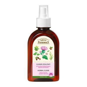 Green Pharmacy, eliksir ziołowy do włosów, wzmacniający, przeciw wypadaniu, 250 ml