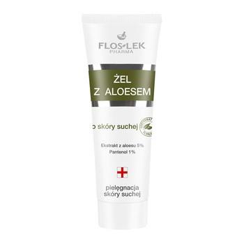 FlosLek Pharma, żel z aloesem do skóry suchej, 50 ml