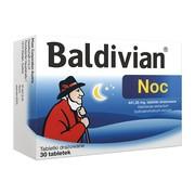 Baldivian Noc, 441,35 mg, tabletki drażowane, 30 szt.