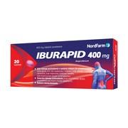 Iburapid, 400 mg, tabletki powlekane, 20 szt.