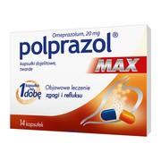Polprazol Max, 20 mg, kapsułki dojelitowe, twarde, 14 szt.