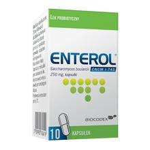 Enterol, 250 mg, kapsułki, 10 szt.