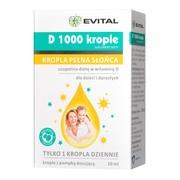 Evital D 1000, krople, 10 ml
