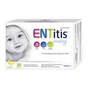 ENTitis Baby, proszek, smak bananowy, 30 saszetek