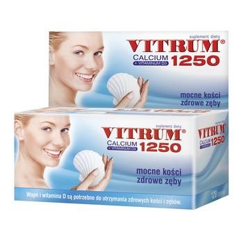 Vitrum Calcium 1250 + Vitaminum D3, tabletki, 120szt.