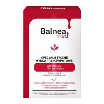 Barwa Balnea med, specjalistyczne mydło przeciwpotowe, właściwości antybakteryjne, 100 g