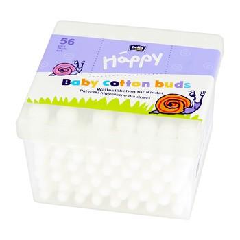 Bella Baby Happy, patyczki higieniczne, 56 szt.