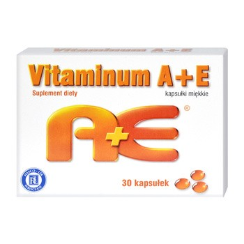 Vitaminum A + E, kapsułki miękkie, 30 szt. (Hasco)