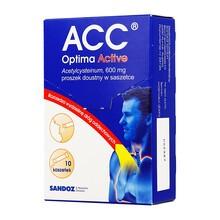 ACC Optima Active, 600 mg, proszek doustny, 10 szt.