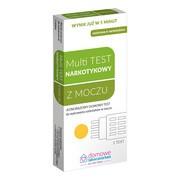 Multi Test do wykrywania narkotyków w moczu, 1 szt.