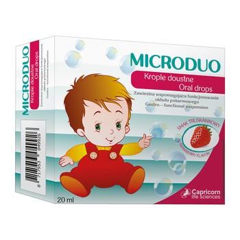 Microduo, krople doustne, 20 ml