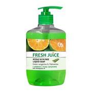 Fresh Juice, kremowe mydło w płynie, green tangerine & palmarosa z olejkiem z trawy cytrynowej, 460 ml