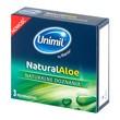 Unimil Natural Aloe, prezerwatywy,  3 szt.