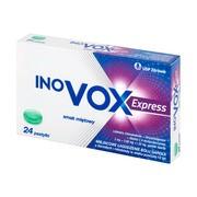 Inovox Express, pastylki twarde, smak miętowy, 24 szt.