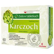 Karczoch, tabletki powlekane, 60 szt.