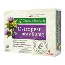 Ostropest plamisty, tabletki, 60 szt.
