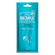 Biovax Keratyna + Jedwab, intensywnie regenerująca maseczka do włosów, 20 ml, 1 saszetka