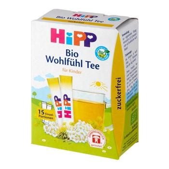 HiPP BIO, herbatka na dobre samopoczucie, saszetki, 15 szt.