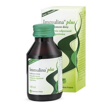Immulina Plus (Immulina), syrop, dla dzieci, 100 ml (125 g)