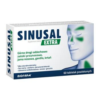 Sinusal Extra, tabletki powlekane, 60 szt.