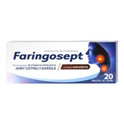 Faringosept, 10 mg, tabletki do ssania, 20 szt.