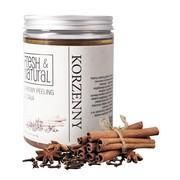 Fresh&Natural, cukrowy peeling do ciała, korzenny, 1000 g
