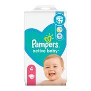Pampers Active Baby 4 (9−14 kg), pieluszki jednorazowe, 132 szt.