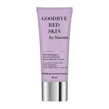 Nacomi Goodbye Red Skin, maseczka zmniejszająca zaczerwienienie do twarzy, 85 ml