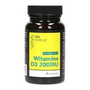 Witamina D3 2000IU VitaMedicus, kapsułki, 60 szt.