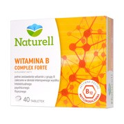 Naturell Witamina B Complex forte, tabletki, 40 szt.
